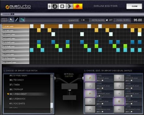 dub turbo beat making software