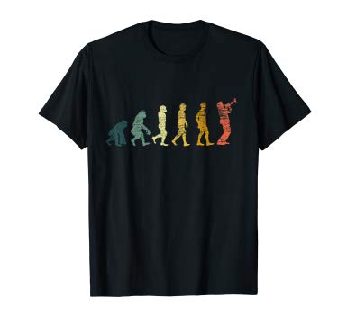 Evolution Trumpet T-shirt