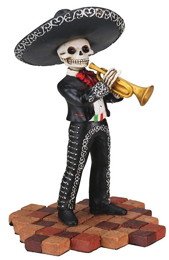 Mariachi Trumpet Player Figure